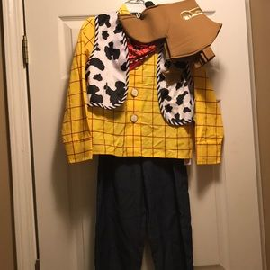 NWT Disney store woody costume 7/8